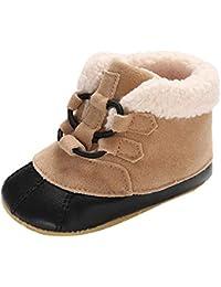 Zapatos Bebe Invierno Fossen Recién Nacidos Niños Botas de invierno Zapatos Calientes Primeros Pasos de Antideslizante