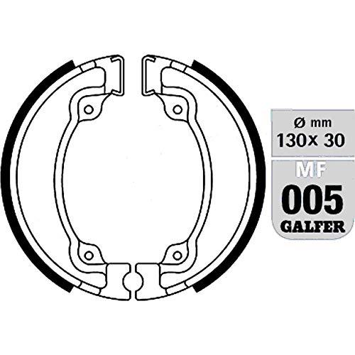 GALFER Bremsbacken MF005 G2165-Organisch Standard MF005-G2165 8400160800182