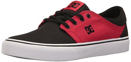 DC - Trase Tx M Shoe Frn, Sneaker basse Uomo Black/White/Red