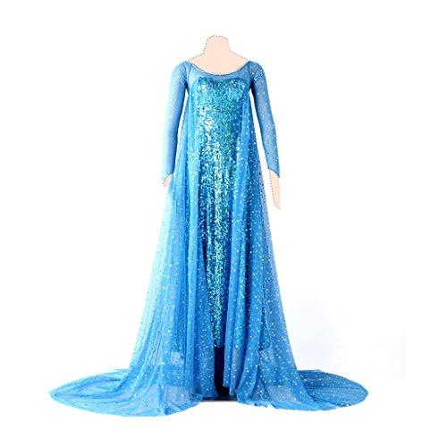 Frozen Cosplay Kostuem ELSA Ver.1 Dress - Elsa Kostüm Medium