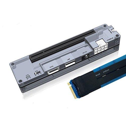Pegasus Version] V8.0 EXP GDC Laptop Externe unabhängige Videokarten Dock mit Spg.Versorgungsteil X4 [M.2