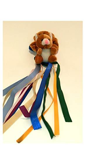 braunes Teddybär Armband - sensorische Aktivitäten für Senioren