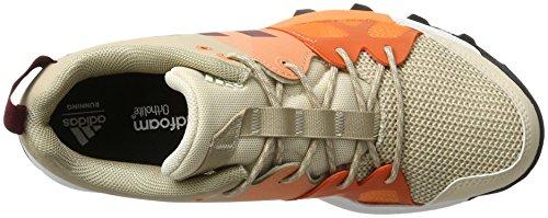 adidas Kanadia 8 Tr W, Scarpe da Trail Running Donna Beige (Linen/collegiate Burgundy/glow Orange)
