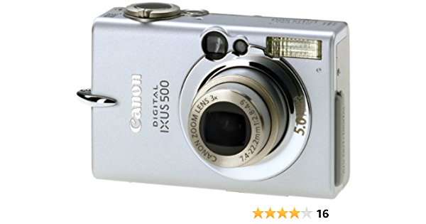 Canon Digital Ixus 500 Digitalkamera 5 Mp