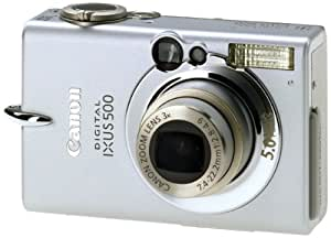 Canon IXUS 500 - Digital camera - 5.0 Mpix - optical zoom: 3 x - supported memory: CF