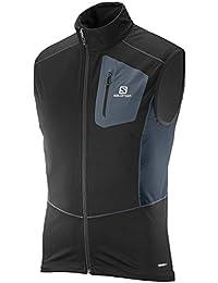 Salomon Equipe Ss Vest - T-shirt pour Homme, couleur Noir, taille