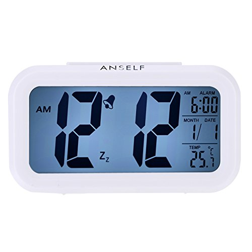 LED Digital Alarma despertador,Anself Reloj Repeticion activada ...