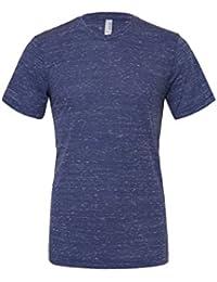 Unisexe poly-coton t-shirt manche courte (BE119) - Marine Marbre, 30-32 / X-Small