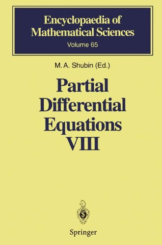 Partial Differential Equations VIII: Overdetermined Systems Dissipative Singular Schrödinger Operator Index Theory (Encyclopaedia of Mathematical Sciences, Band 65)