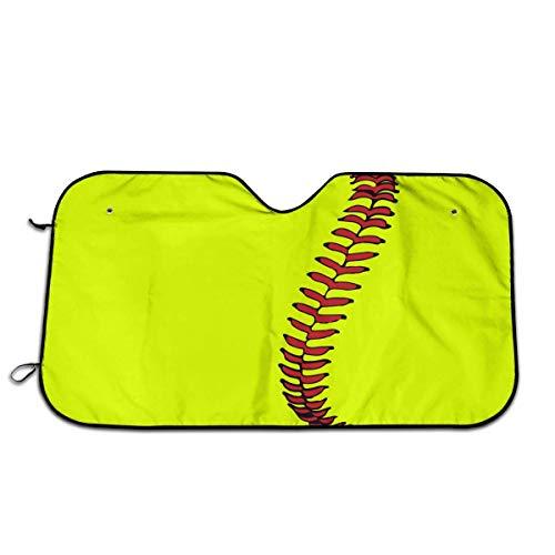 BetterShopDay Baseball Lace Car Windshield Sunshade Universal Fit Keep Your Vehicle Cool. UV Sun and Heat Reflector -