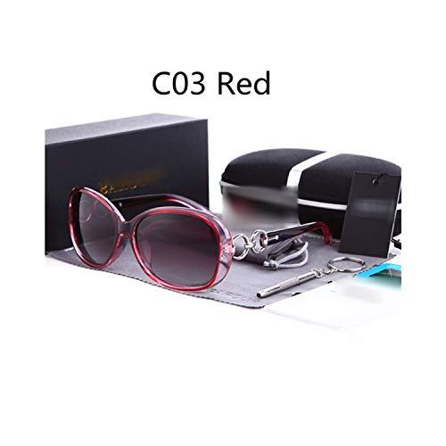 Sport-Sonnenbrillen, Vintage Sonnenbrillen, New Polarisiert Sunglasses Women Brand Designer Female Sunglass Vintage Sun Glasses Gafas Oculos De Sol Masculino Red
