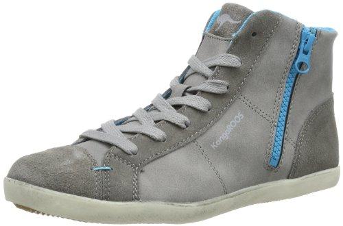 KangaROOS Candice, Sneakers Hautes femme Gris (Mid Grey 250)
