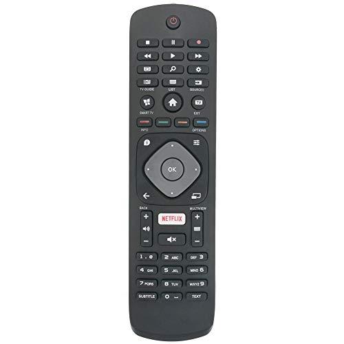 Ochoos Fernbedienung für Philips FHD UHD LED 4K Smart TV s mit Netflix Taste 43PUS6101/12 43PUS610112 43PUS6162/12 43PUS6201 43