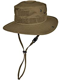 Hazard 4  large suntac cotton boonie sombrero marrón