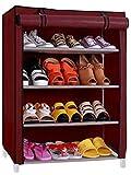 #9: Ebee Store Baby 4 Shalves Wardrobe (Maroon)