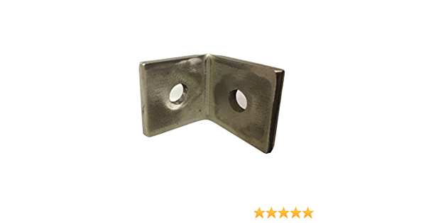for Channels T304 Stainless As Unistrut 1026 Oglaend M8 2 Hole Angle Plate