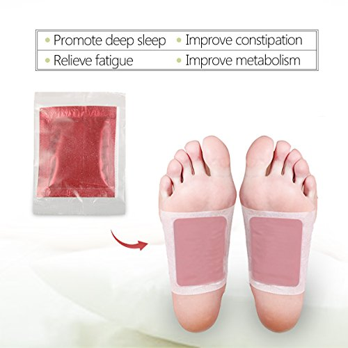 Test Detox Fusspflaster Luckyfine Vitalpflaster Foot Pad Pflaster