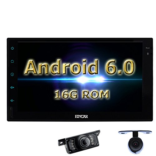 Eincar Android 6.0 1GB RAM Autoradio-Stereo 7-Zoll-High-Definition-Universal-Doppel-DIN-Head Unit Unterst¨¹tzungs-GPS-Navigation Bluetooth 4.0 Mirrorlink, WiFi 3G AM FM RDS SWC USB SD 64GB  -