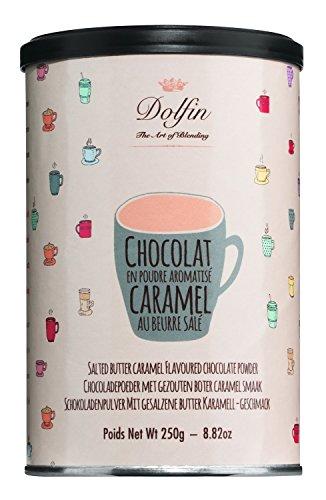 Dolfin | Trinkschokolade mit Karamell aus gesalzener Butter