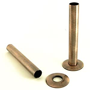Antique copper sleeve kit cast iron radiator pipe cover for Poly sleeve for copper pipe