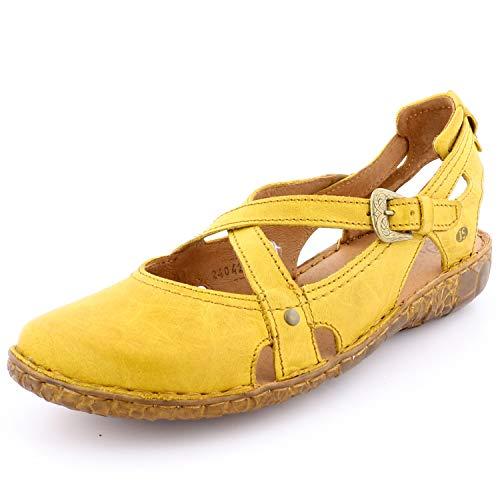 Josef Seibel Rosalie 13 Sandalen in Übergrößen Gelb 79513 95 850 große Damenschuhe, Größe:44 (Frauen Große Größe Schuhe)