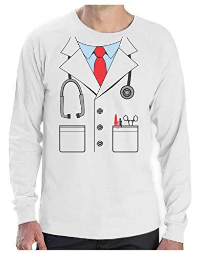 150eaa4f3643e Green Turtle T-Shirts Déguisement Costume de médecin Docteur Halloween T-Shirt  Manches Longues