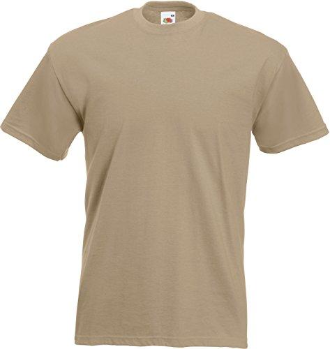 T-Shirt 'Super Premium Tee' Khaki
