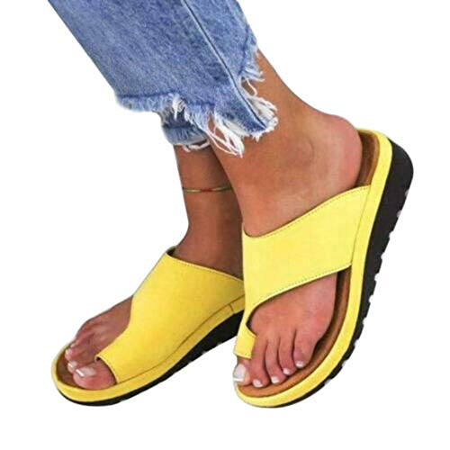 Sfit Damen Sommer Plattform Sandalen Clogs Sandalen Peep-Toe Schuhe High Heels Plateau Wedge Bequeme Sommerschuhe Offen Strandschuhe Hauschuhe - Bequeme Schuhe Heels