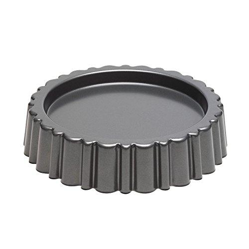 Kitchencraft Chicago Metallic Professional antiaderente Mary Ann cake pan/spugna teglie, 27cm (26,7cm), grigio
