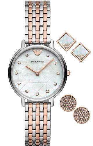 Emporio Armani Kappa AR80019 Reloj de Pulsera para Mujeres
