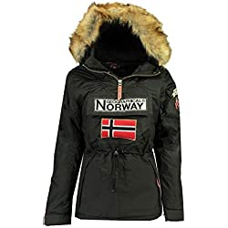 Geographical Norway Parka Mujer BOOMERA Ass A Negro 01