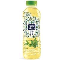 Font Vella Té Agua Mineral con Extracto de Té Verde a la Menta - Pack de 12 Botellas x 0.5 l - Total: 6 l