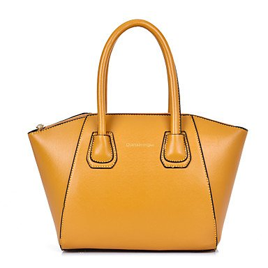 La donna pu formale / Casual / Ufficio & Carriera / Shopping Zaino / Set borsa rosa / blu / giallo / nero,giallo Black