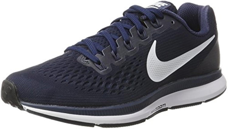 Nike Air Zoom Pegasus 34, Zapatillas de Entrenamiento para Hombre, Azul (Obsidian/White-Neutral Indigo-Blue Recall...