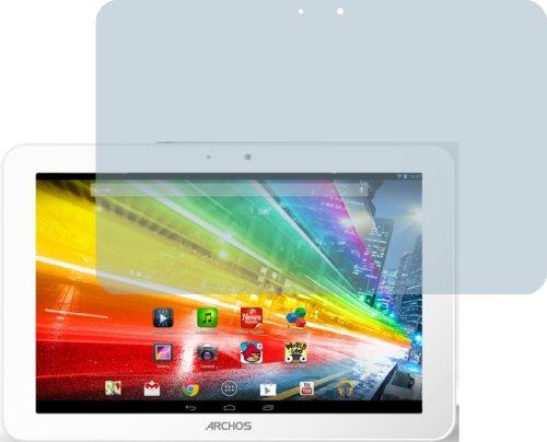 4ProTec 2X Archos 101 Platinum ENTSPIEGELNDE Displayschutzfolie Bildschirmschutzfolie Schutzhülle Displayschutz Displayfolie Folie