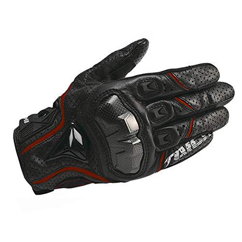 Guanti moto traspiranti Touch Screen Full Finger impermeabile antivento per moto da esterno per Mountain Moto R