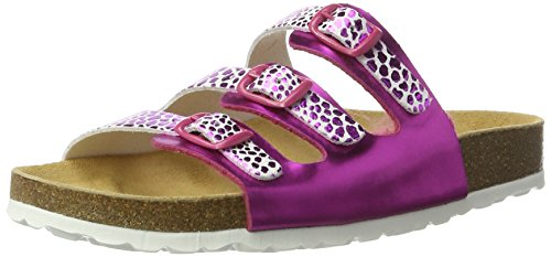 Lico - Bioline Trendy, Pantofole Donna Pink (Pink/Weiss)