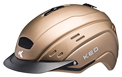 KED Cocon Helmet Gold Kopfumfang S/M | 52-56cm 2018 Fahrradhelm