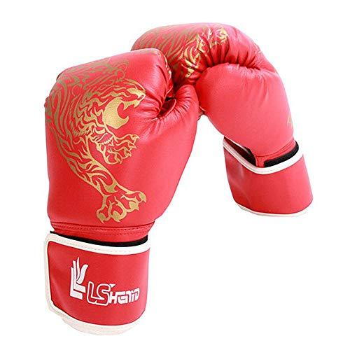 Yves25Tate Premium Boxhandschuhe für Erwachsene & Kinder, Kinder Taekwondo Sanda Combat Handschuhe, dick, verschleißfest, wasserdicht, für Sparring, Kickboxen, Boxsack, Kampf, Muay Thai, Sport (Combat Sports Handschuhe)