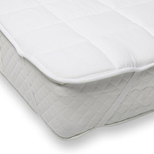 sinnlein® Mikrofaser-Unterbett für besonders guten Schlafkomfort und Entspannung, Matratzenauflage / Matratzenschoner erhältlich in verschiedenen Größen, Soft Touch, für Boxspring- und Wasserbetten geeignet, ideal auch für Allergiker (180 x 200 cm)