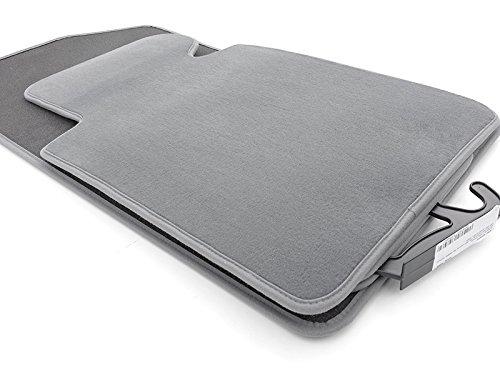Voiture tapis de sol pour bMW e90 e91 m3 velours qualité original 800 g/m² gris tapis