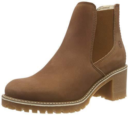Tamaris Damen 1-1-25447-23 Chelsea Boots, Braun (Cognac 305), 39 EU