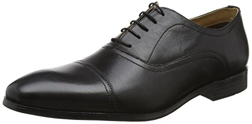 Red Tape Stowe, Chaussures à Lacets Homme, Marron