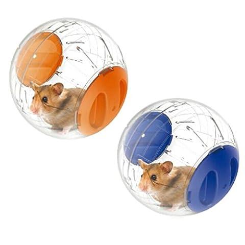 emours Run-About Balle d'exercice pour hamster Petit Animal Mini 12,2cm
