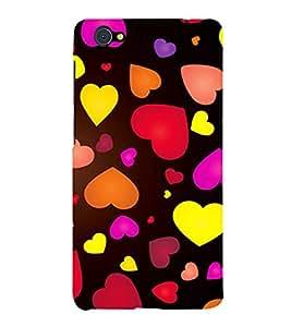 Fiobs love lovely heart shape symbols theme design patterns Designer Back Case Cover for Vivo X5Pro :: VivoX5Pro