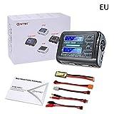 PEALO LiPo Akkuladegerät Duo Entlader Dual Channel AC 150 Watt DC 240 Watt 10A C240 Für Lipo/Lilo / Life/LiHv Smart Batterie
