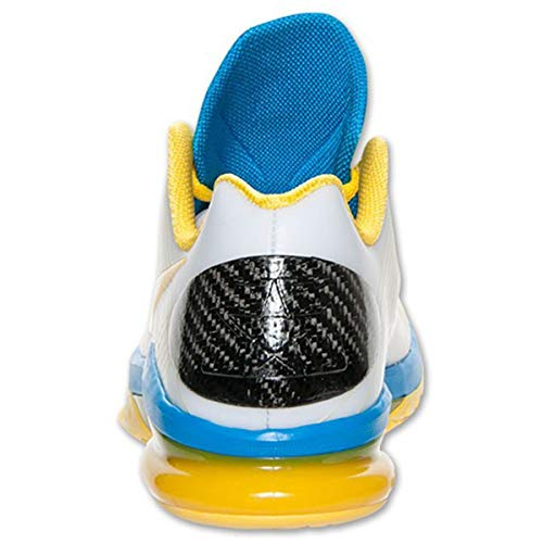 339fbdc5b1e8 Nike Men s KD V Elite Kevin Durant Shoes in Transparent Rubber and Yellow  and Blue Lenses