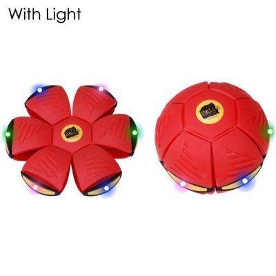 �schen Flach Tagesdecke Scheibe Spielzeug -Ei Kostüm flexibel für draußen für kinder Spiderman - rot + Lichter mit Beleuchtung ()