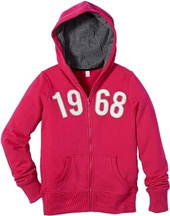 ESPRIT Tops  capuche  capuche Manches longues Fille Rose foncé - Pink (656 BRIGHT RASPBERRY) 14 ans