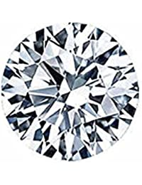 3.4CTS 8 MM BEST QUALITY LOOSE ROUND CLEAR CZ STONE CUBIC ZIRCON Buy One Get One Free...GRADE AA+++ TOP QUALITY...